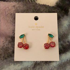Kate Spade Cherry Earrings